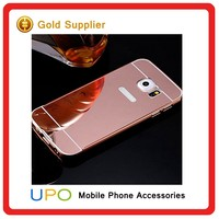 [UPO] Newest Protective Aluminum Metal Bumper Mirror PC Back Cover Case for Samsung Galaxy S7