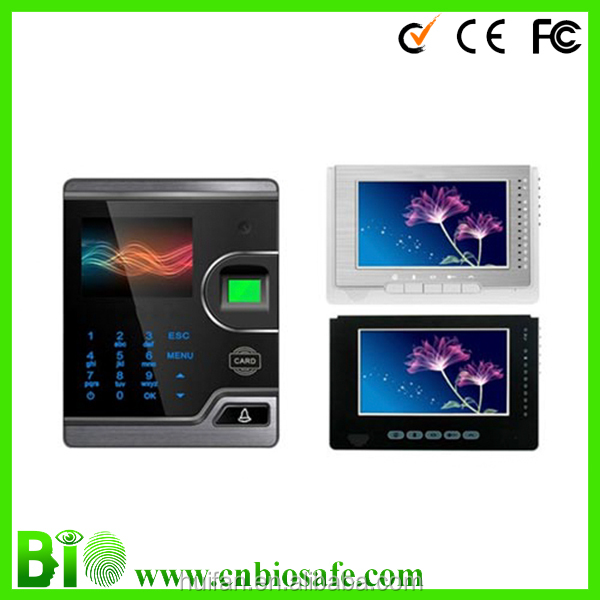 ID fingerprint and password Door Access System Video Door Phone ( HF-F16V )