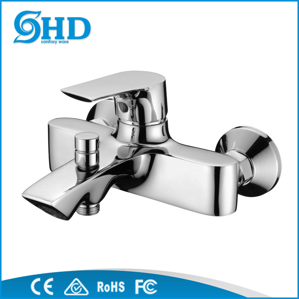 Factory wholesale Brass Single Hole Bathroom Faucet Hot and Cold Water Mixer Tap
