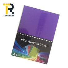 180 micron Color Pvc Rigid Sheet A4 Pvc Binding Cover