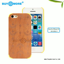 imported Real Wood Bamboo mobile phone accessories, for iphone 5 case, for iphone 5s case, for iphone 5 cover slim