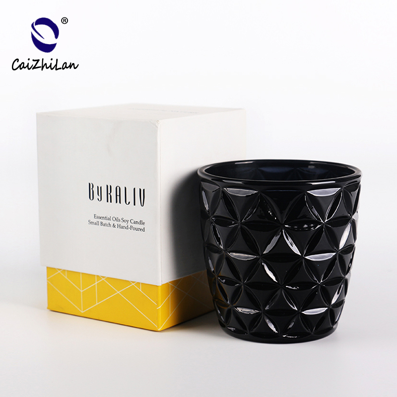 Latest Competitive Price Customized Available Black Candle Holder