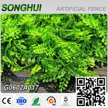 garden decoration PE artificial bamboo fence panels for sale