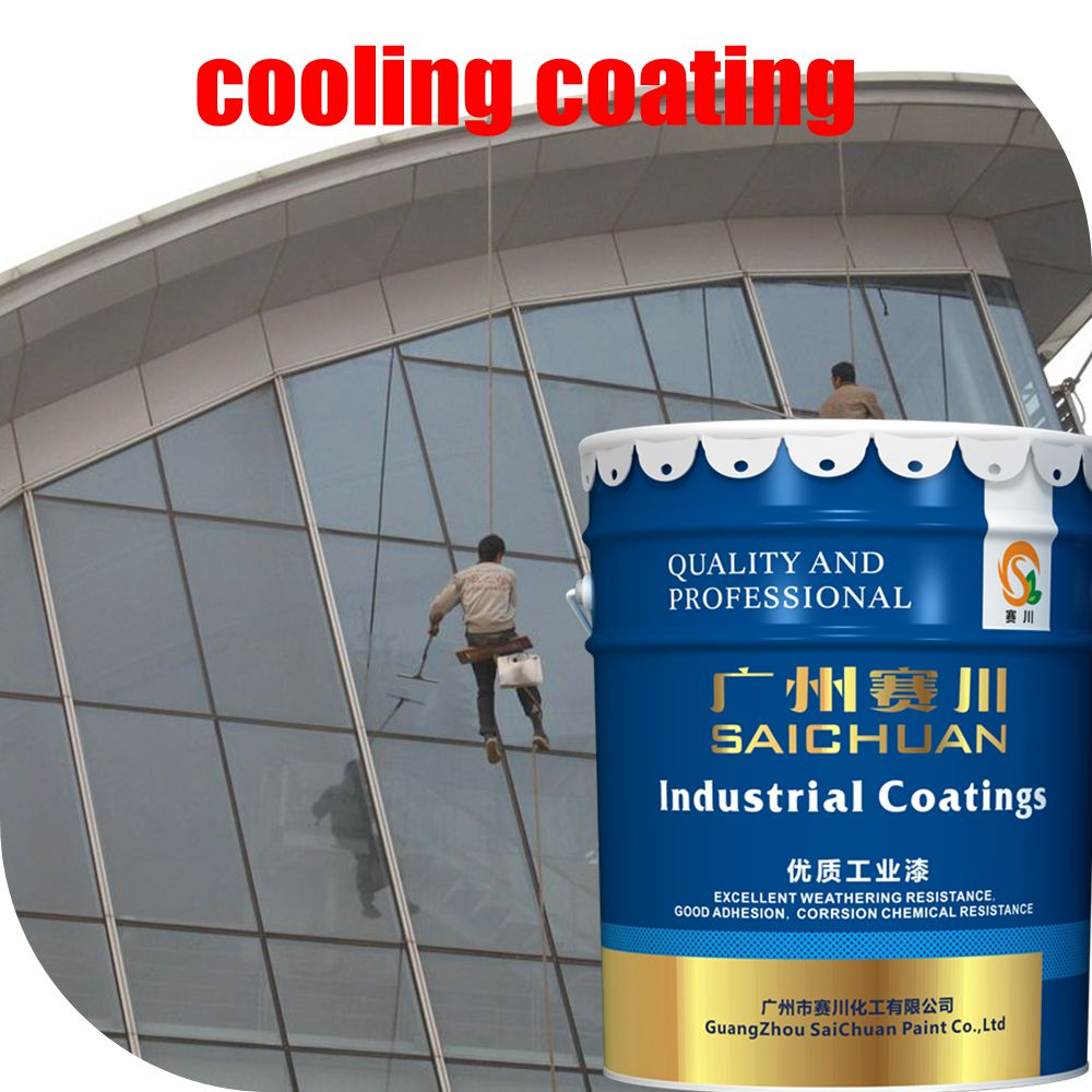 Exterior wall and roof cooling coating(Oil based)