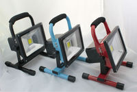Portable 10W Battery LED Floodlight ,2014 news factory offer