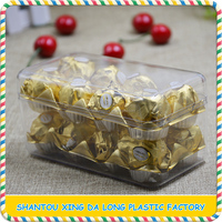 Hot sell chocolate candy storage display boxes for festival