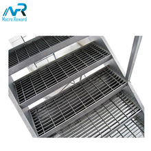 ASTM Q235 Stainless Steel Grating Bridge Decking Flooring Grating/outdoor drain grates