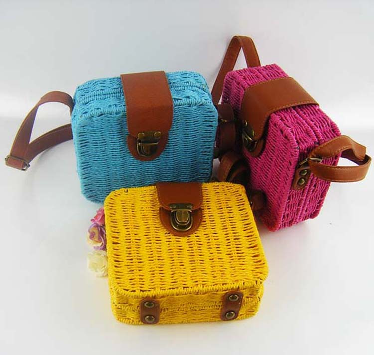 Top Selling Straw Women Hand Bags