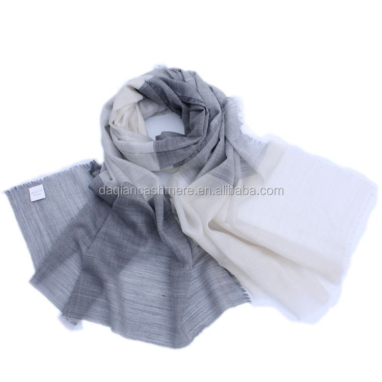 bohemia style striped design cashmere scarves for winter dress