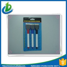 3PC wholesale dry erase markers