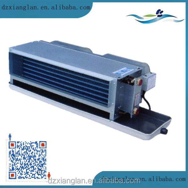 Horizontal type concealed hot water chilled water fan coil unit