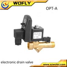 "AC 110V 1/2"" Electronic Automatic Timed Drain Valve for Filter Dryer Gas"