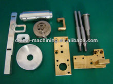 CNC machining electric fireplace heater metal smoking pipes pump parts