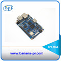 Open source hardware platform Banana Pi BPI-M64 a quad-core 64 bit version and use Allwinner A64 design