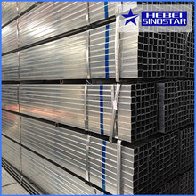 Hot dip galvanized square steel pipe for green house steel tube