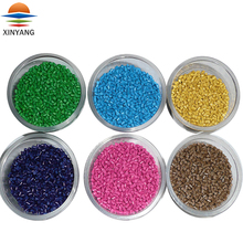 High pigment colorful green red blue yellow plastic coloring colors masterbatch with CE FDA