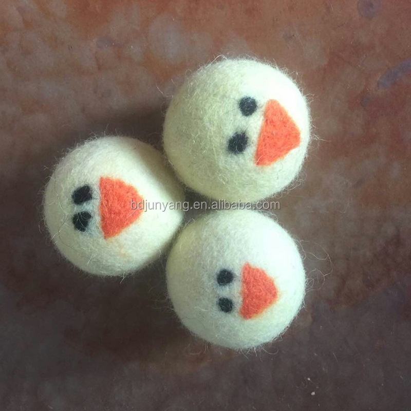 Eco fluffs Wool dryer balls washing balls