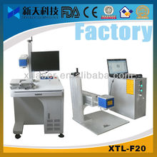 NEW Desktop 20w Fiber Laser steel Marking Machine+Skype:xtlaser_xu