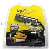 easy cap usb 2.0 audio-video capture adapter