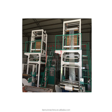 High efficiency clear agricultural plastic film blowing machine