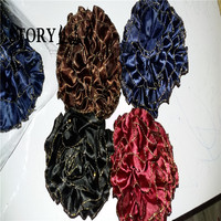 hijab muslim hair accessory headwear volumizervelvet big bun clip under scarf Khaleej elastic hair tie rings hair scrunchies