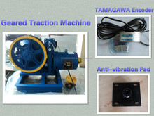 Elevator motor, Traction Machine Lifts, elevator gearless traction machine