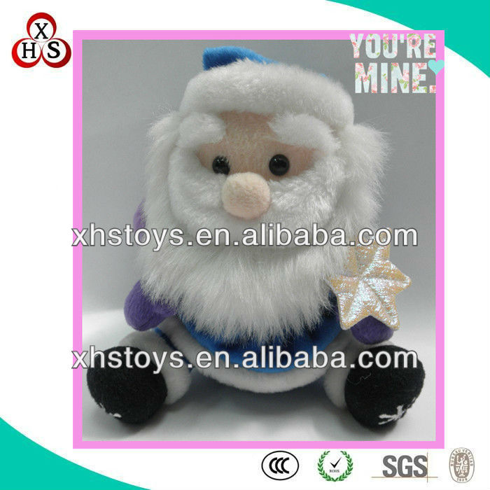 lovely new toys for christmas 2013&christmas plush toy with sound