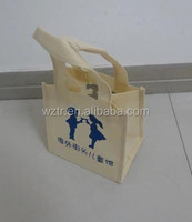 hot tote bag, non woven trading shopping handbag