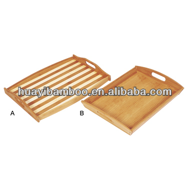 Mini Bamboo Tray