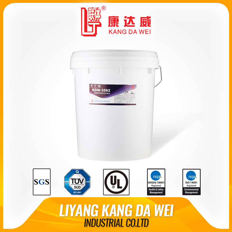 aging resistant liquid silicone for heating can be used in electronic component potting material