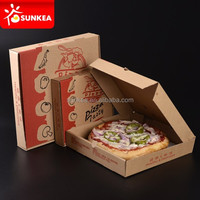 Fast food paper packaging pizza