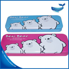 Customized print fancy metal pencil box best-selling in Latin American markets