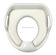 white color Baby's/kids/child's WC soft potty/toilet training seat/mat