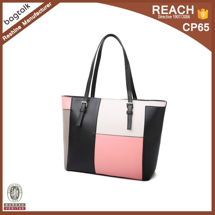 FH219 China Factory Wholesale Designer Female PU Leather Handbags Ladies Tote Bags