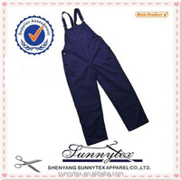 Sunnytex working clothing polycotton demin adult bib overalls