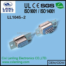 D-SUB Connector male and female 3 Row Solder Type 15 26 44 62 78 pin CE ROHS LL1045-2