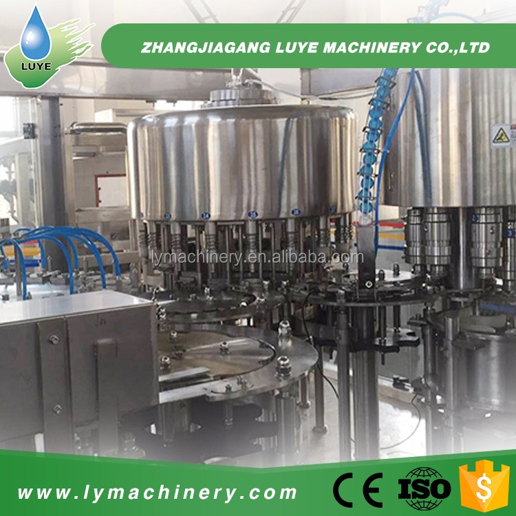 IOS Certification Plastic bottle Automatic Spray Can Filling Machine