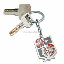 Metal Souvenir Keychain Wings Bag Keychain Anime Keychain