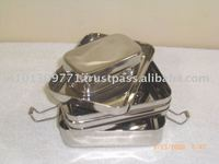 stainless steel square lunch boxes