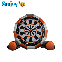 China suppliers wholesale inflatable soccer football toy high quality darts board for outdoor playing games