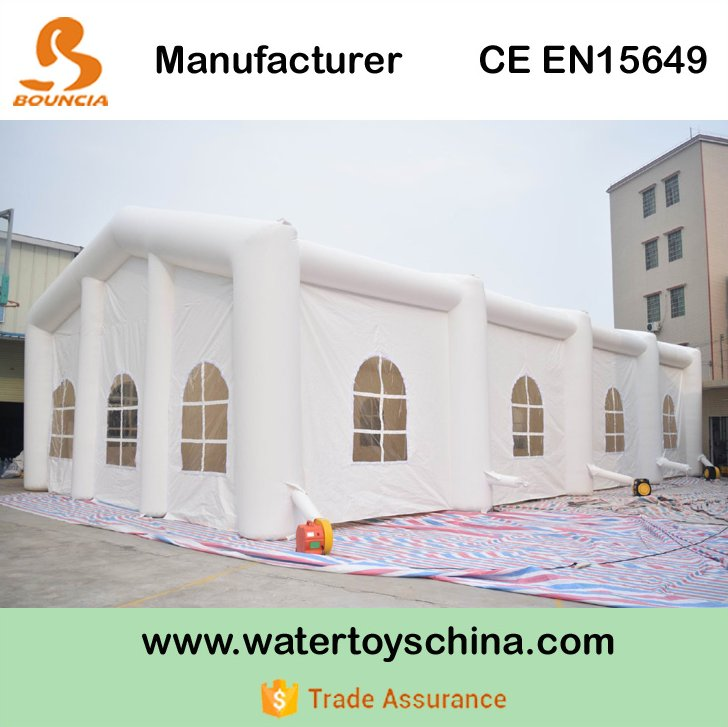 Durable PVC Tarpaulin Inflatable Wedding Tent / Inflatable Tent For Party