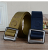 Factory made metal buckle military uniform Belts