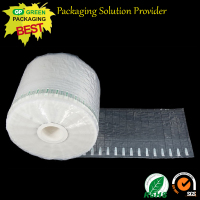 40cm width transport protective shock resistant inflatable packaging air bag column wrap roll/air filled bags packaging