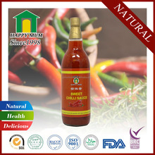 OEM Thai Style Sweet Chilli Sauce Cooking Hot Red Spicy Chili Sauce