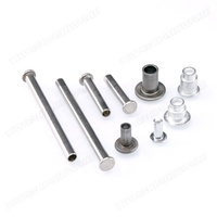 Factory Supply Custom Special Aluminum Semi Tubular Rivets