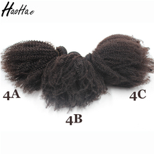 Brazilian Human Hair Afro Kinky Curly Chinese Hair Vendors Wholesale 4C Afro Kinky Curly Hair