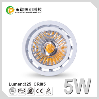 GU10 COB MR16 LED Spotlight 5W Dimmable Energy-Saving Lamp