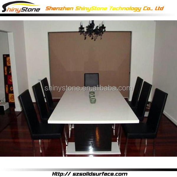 Contemporary chain shop composite solid surface coffee table tablecloths
