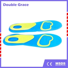 New design Gel soft plastic gel shoe insoles soft silicone footcare gel insoles high quality shoe insole with great price