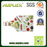 Special Christmas Gift Sublimation Coated Tempered Glass Cutting Board (CB-B)